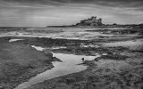 'Bamburgh Castle And Beach' by Dave Dixon LRPS