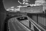 'Manors Car Park And Swan House' by Dave Dixon LRPS
