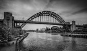 'Tyne Bridges' by Dave Dixon LRPS