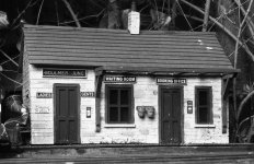 'Waiting Room, Boulmer Junction' by Richard Stent LRPS