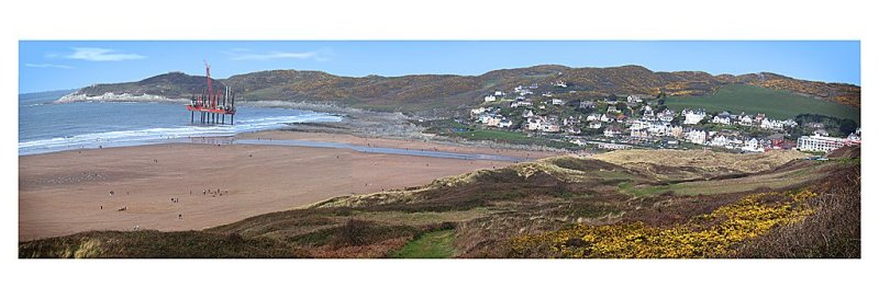 'Woolacombe Bay' by Ken Shawcross