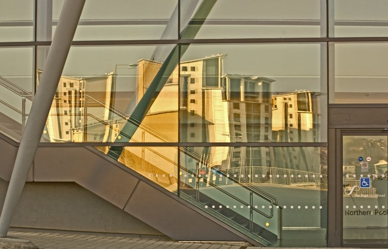 'Reflections At TheSage (3)' by Pat Wood LRPS